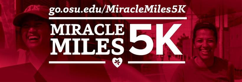 Sign up for BuckeyeThon's Miracle Miles 5K!